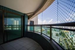 Apartamento com 3 quartos para alugar, 114 m² por R$ 3.859/mês - Boa Viagem - Recife