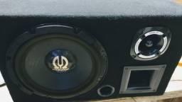 Caixa tril com alto falante Pioneer 450 original relíquia.