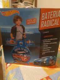 Bateria Infantil Hot Weels