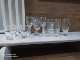Kit Taças / Copos Drinks (vidro) 12 Peças