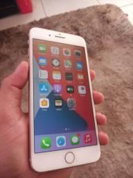 iPhone 8 plus rosé 64 GB sem detalhes