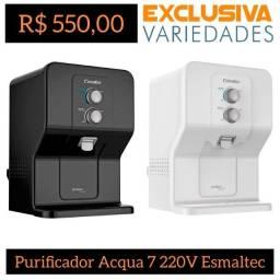 Título do anúncio: Purificador Purágua Acqua7 220V Preto altec