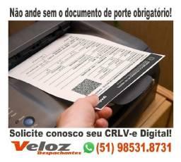 Crlv CRLV-e Documento de rodar