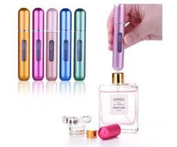 Mini Frasco de Perfume Para Bolsa Recarregável Spray 8ML (Vazio) Viagem sem Peso