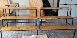 Expositor para Potes (tipo escada)