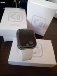 Smartwatch foto na tela