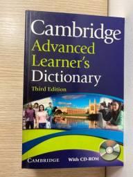Livro Cambridge Advanded Learner?s Dictionary