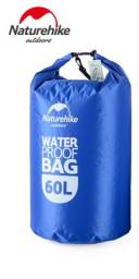 Saco Estanque Natuhike 60 litros Azul Qualidade Top Feira Ba