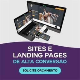 Título do anúncio: Criação de Sites - Landing page - Loja Virtual