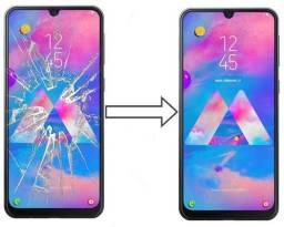 Vidro da Tela para Samsung M30 M305, Mantenha a Originalidade do seu Estimado Celular!