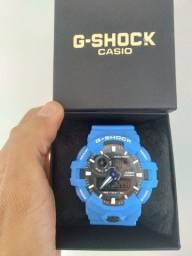 Título do anúncio: Relógio G-Shock GA-700 Azul A prova d'água