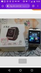 Smarwatch bluetooth c câmera e entrada chip De 100 por 80