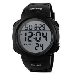 Relógio Esportivo Digital Natação Skmei 1068 Prova D' Água Original Militar