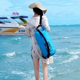 Bolsa Mochila Impermeável Estanque Saco Prova de Água 10 Litros Ocean Pack