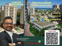 Título do anúncio: Parque Tropical | 2 Vagas | Patamares | 3 suítes | Melhor empreendimento | Oportunidade