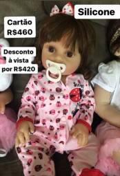 Bebezinha Reborn Silicone em Pronta Entrega! Roupinha de Joaninha