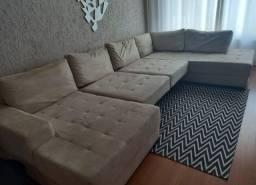 Sofa de canto retrátil