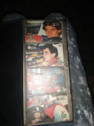 Cartão de telefone Airton Senna