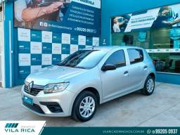 Título do anúncio: Vila Rica - Seminovos - Renault Sandero Life 1.0 12v Flex 4P Completo 2021 / Manual