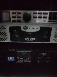 Amplificador CROWN 600w