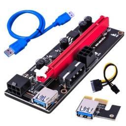 PCIe Riser Ver009 para Placa de Vídeo e Bitcoins