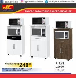 Balcão ipê  para forno e microondas    nm