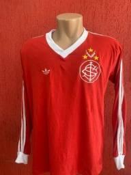 Camisa Inter Retrô anos 80 manga longa