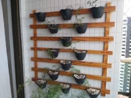 Vendo este jardim vertical