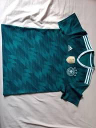 Camisa Alemanha Verda e azul - Tamanho M - 100% ORIGINAL