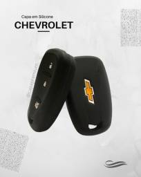 Capa de Silicone Chave Presença Chevrolet 3 Botões