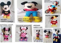Mickey e Minnie Mouse a Pilha ( ver descrição )
