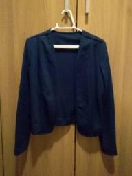Casaquinho azul