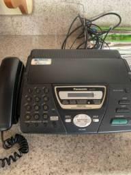 Aparelho de fax e telefone sem fio
