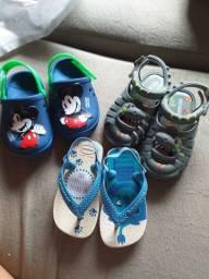 Sandálias masculina (infantil)