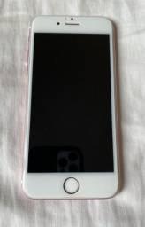 iphone 6S- 128gb- único dona- ótimas condições com película 3D e capinhas novas!!