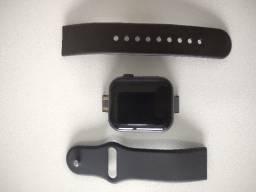 Relógio Smartwatch Inteligente Básico D28 Preto Bluetooth Android