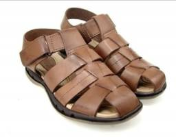 Sandália de couro masculina Itapuã