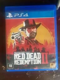 Red Dead 2 Ps4 vendo ou troco por controle