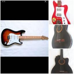 Guitarras e violão