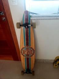 Skate Longboard Urgh Sunset Logo Bamboo<br><br>