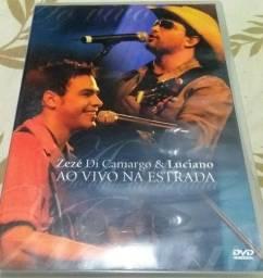 Dvd original Zezé e Luciano