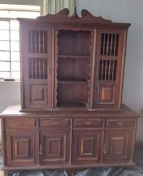 Arca e Oratório + Mesa e Cadeiras antigas
