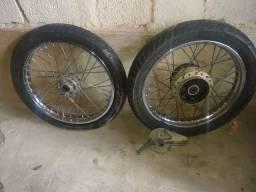 Rodas raiadas de 150