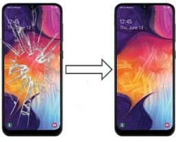 Vidro da Tela para Samsung A50 A505 , Mantenha a Originalidade do seu Estimado Celular!