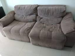 Sofa etna 2,10m dois lugares retrátil