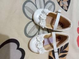 Sapato de festa branco