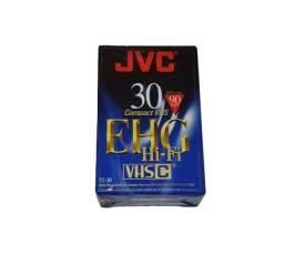 Fita Cassete Compacta Vhsc Jvc Tc-30 Ehg