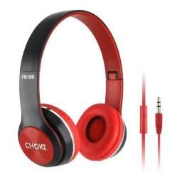 Fone de Ouvido compatível com Celular, Radio, Mp3, Mp4, DVD