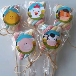 Cupcake's & Marshmallow no palito