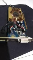 Placa de vídeo geforce 9400GT 1Gb,. oportunidade